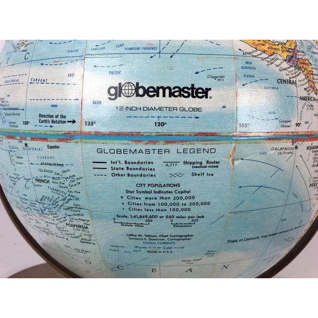 Vintage Globemaster Legend World Globe - Image 4 of 8