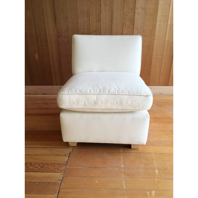 Image of Slipper Chair + Custom Upholstery Service