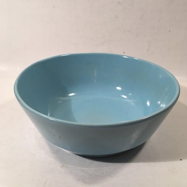 Frankoma Westwind Blue Serving Bowl - Image 2 of 6