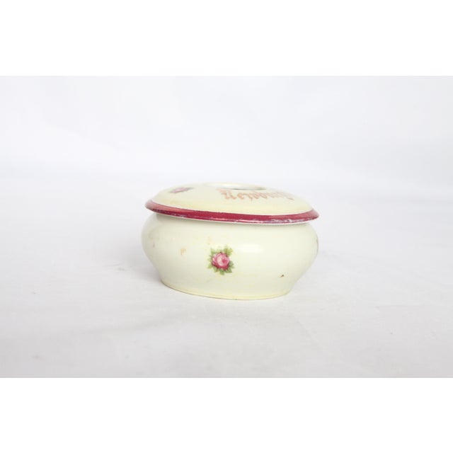 Antique Victorian Newburgh, NY Porcelain Hair Receiver - Image 11 of 11