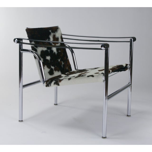 Le Corbusier LC1 Chairs by Cassina - A Pair   Chairish