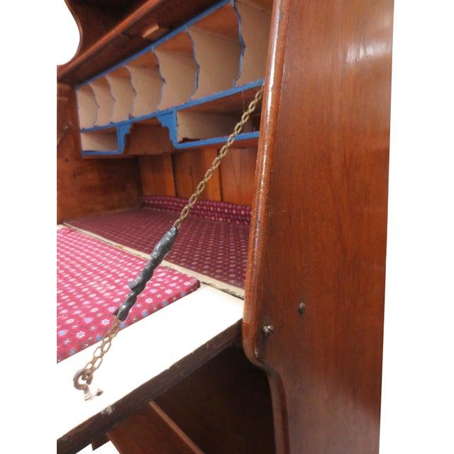 Image of Vintage Bookcase & Secretary Desk