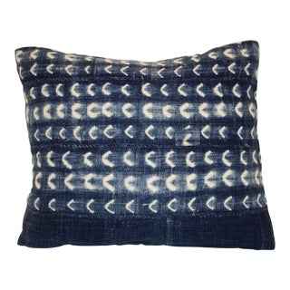 African Indigo Pillow