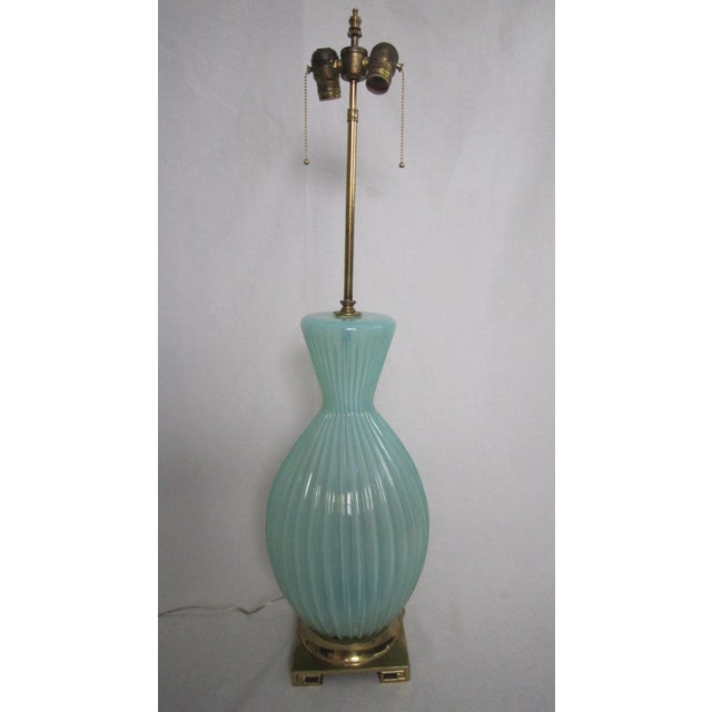 Vintage Murano Glass Lamp - Image 2 of 6