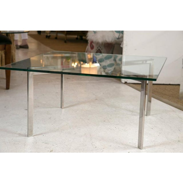 Image of Barcelona Table by Mies van der Rohe for Knoll