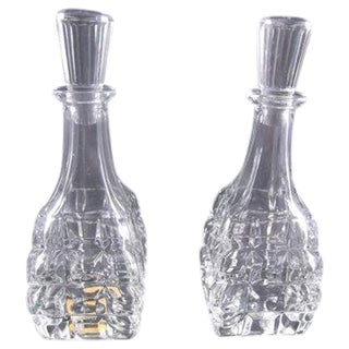 Art Deco Czech Perfume Bottles - A Pair