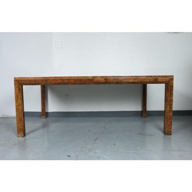 Master Burlwood Dining Table - Image 3 of 11