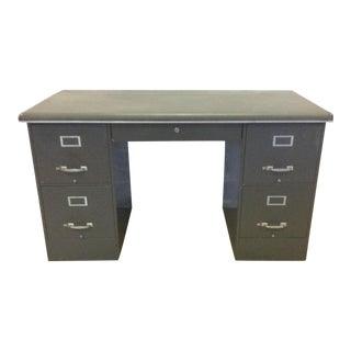 Cole Steel Modular Tanker Desk