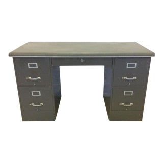 Cole Steel Modular Tanker Desk