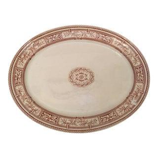 Vintage English Ironstone Platter