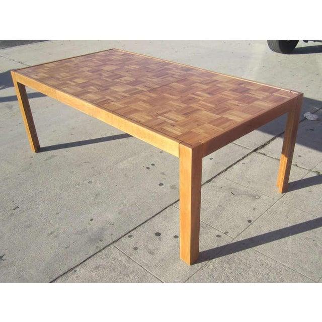 Parquet-Top Parsons Table - Image 5 of 6