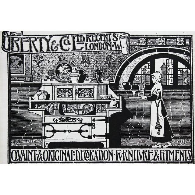 1910s Kitchen Advertisement Wood Block Print - Image 1 of 5