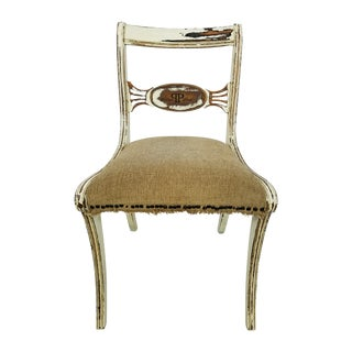 1940's French Shabby Chic Stylish Chair