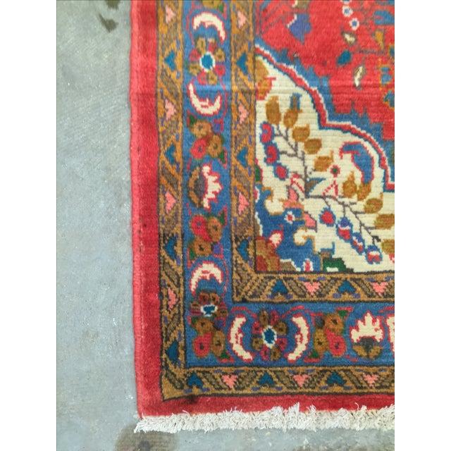 "Vintage Lilihan Persian Rug - 2'8"" X 5'5"" - Image 8 of 8"