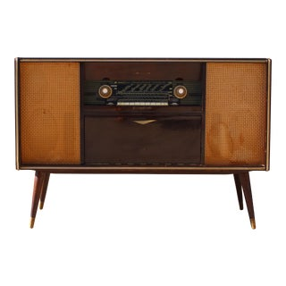 Mid Century German Emud Stereo Console