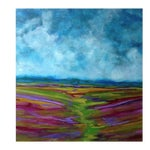 Image of Bryan Boomershine Lavender Field Oil Painting