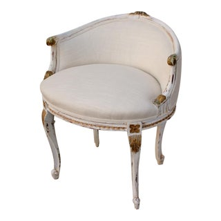 French Louis XVI Vanity Chair