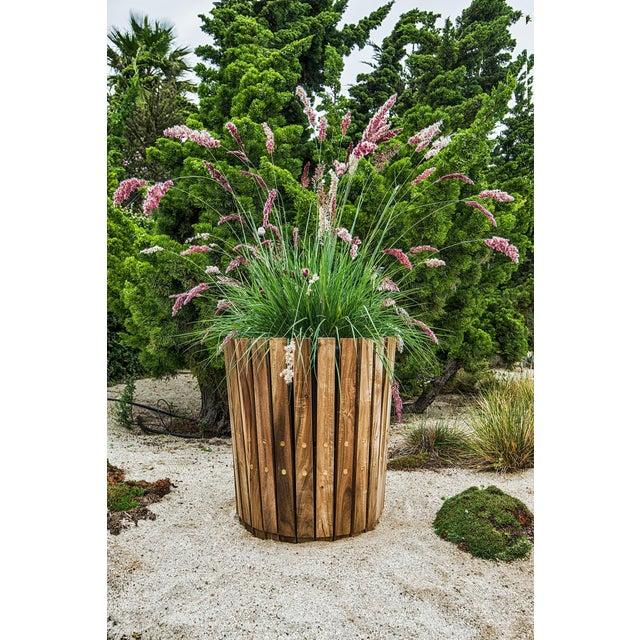Customizable Plantum American Hardwood Modular Planter Cover - Image 6 of 7