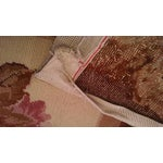 Image of Floral Aubusson Wool Rug - 7′12″ × 9′10″