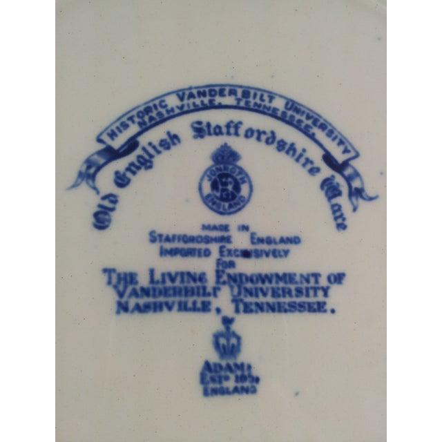 Image of Staffordshire Vanderbilt University Plate