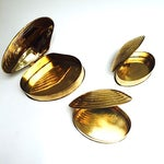 Image of Brass Shells - Vintage Set of Three Boxes