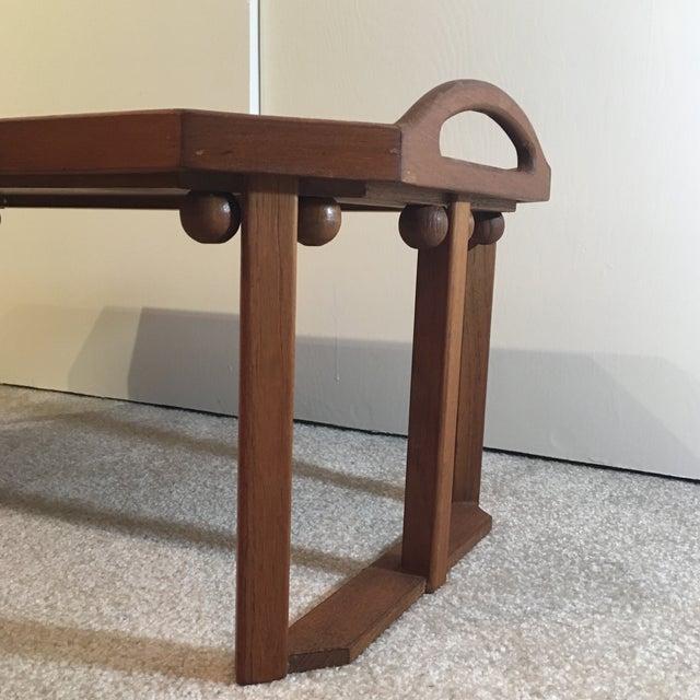 Danish Modern Teak Breakfast Tray - Image 4 of 11
