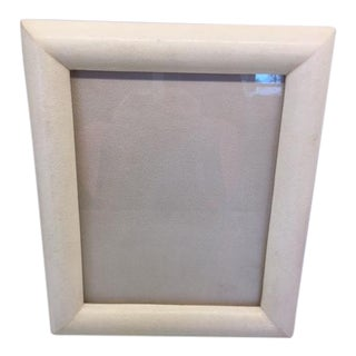Cream Shagreen Picture Frame
