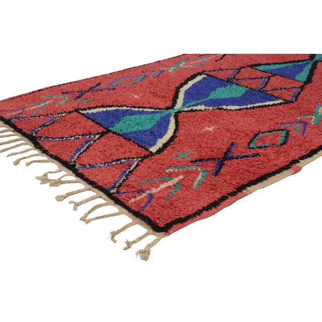 Vintage Berber Moroccan Rug - 3′9″ × 6′ - Image 2 of 6