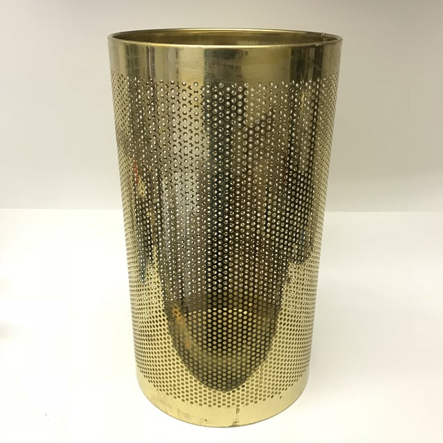 Perforated Brass Bin - Image 5 of 5