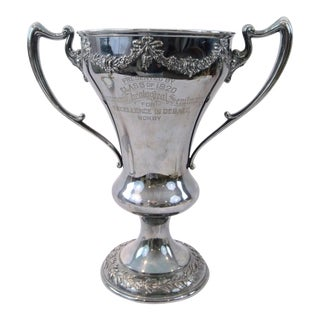 Antique Silver Loving Cup 1920 Theology Seminary Trophy