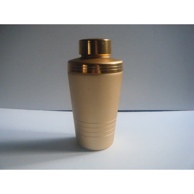 Mirro Mid-Century Gold Cocktail Shaker - Image 5 of 5