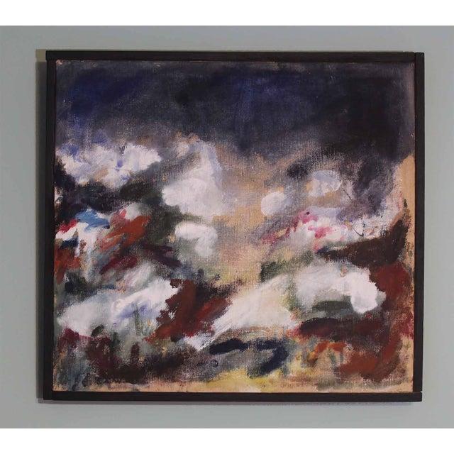 1966 Ken Harkias Abstract Acrylic Painting - Image 2 of 4