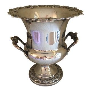 Vintage Ornate Silverplate Ice Bucket