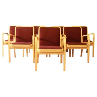 Danish Modern Armchairs by ICF Finland - Set of 8