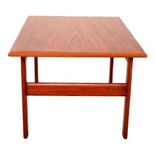 Danish Modern Teak Side Table Scandline