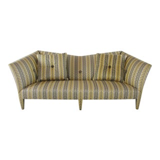 Vintage John Hutton Donghia Yellow Stripe Spirit Sofa