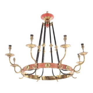 French Regency Empire Chandelier