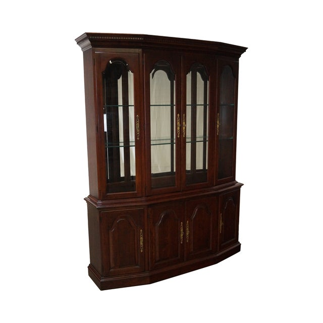 Pennsylvania House Solid Cherry China Cabinet - Image 1 of 10
