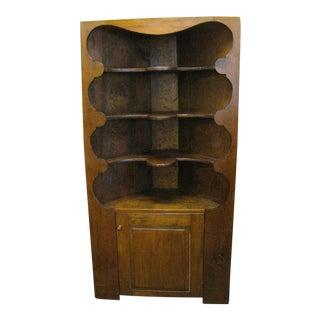 19th Century Corner Cabinet