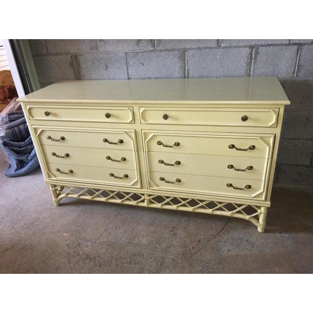 Ficks Reed Hollywood Regency Dresser - Image 3 of 6