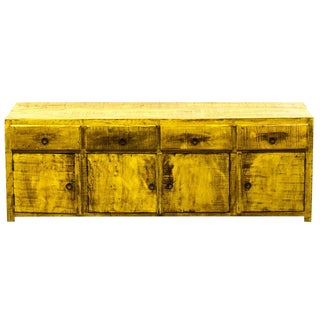 Reclaimed Wood Low Sideboard/Media Console