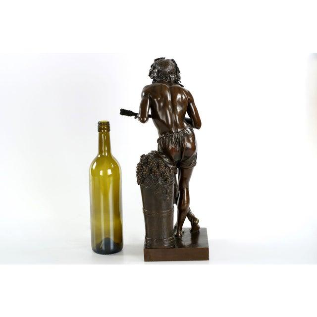 "François-Joseph Duret ""Improvisateur"" Bronze Sculpture - Image 4 of 10"