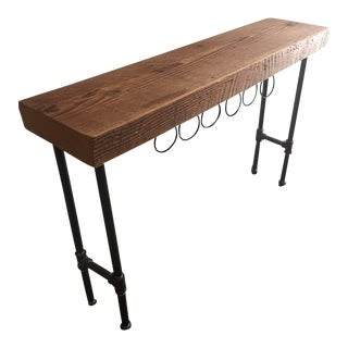 West Elm Industrial Wine Console