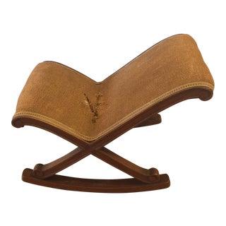 Antique Horse Hair Rocking Chair