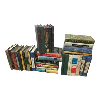 Modern Library Books Set of 34