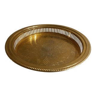 24k Gold Plate Tray