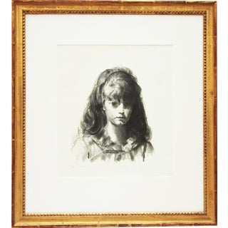 """Anne"" Framed Lithograph by George Bellows"
