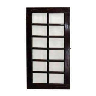 Beveled Glass 12-Panel Window