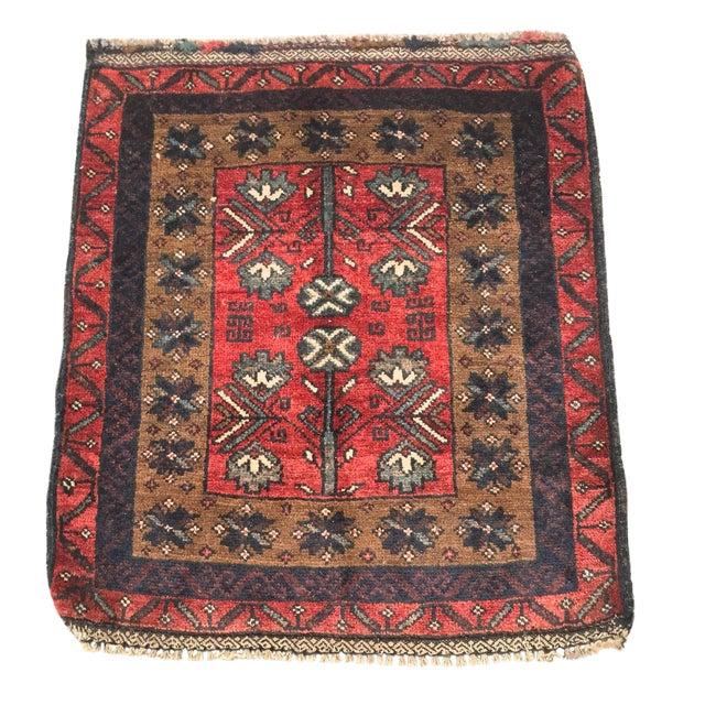 Baluchi Persian Rug - 1′10″ × 2′2″