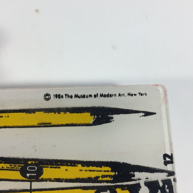 Image of MOMA Pop Art Pencil Case 1984